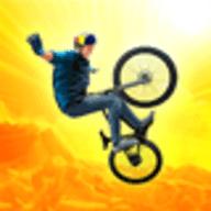 高空自行车特技