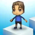 下落冲冲冲3D苹果版v1.0