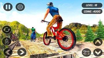 好玩的自行车竞技