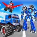 警察卡车机器人