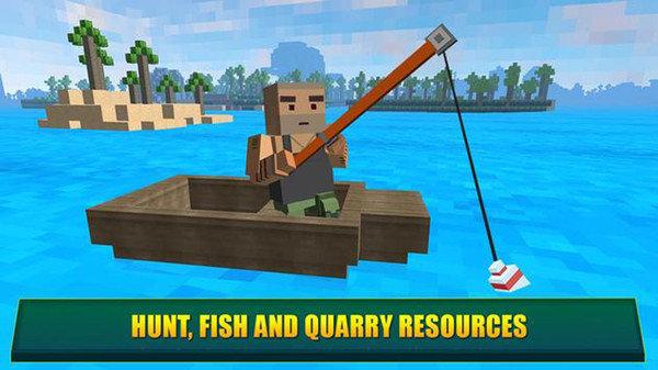 建设天堂岛渔港