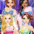 公主舞会的时尚装扮