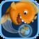 模拟吃掉地球的小金鱼游戏