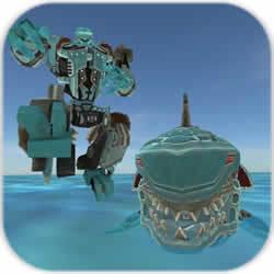 变形鲨鱼机器人