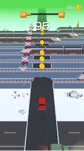 公路街行车和漂移