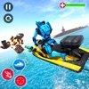 喷气滑雪机器人潜艇战苹果版