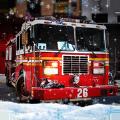 冬季救援消防车苹果版