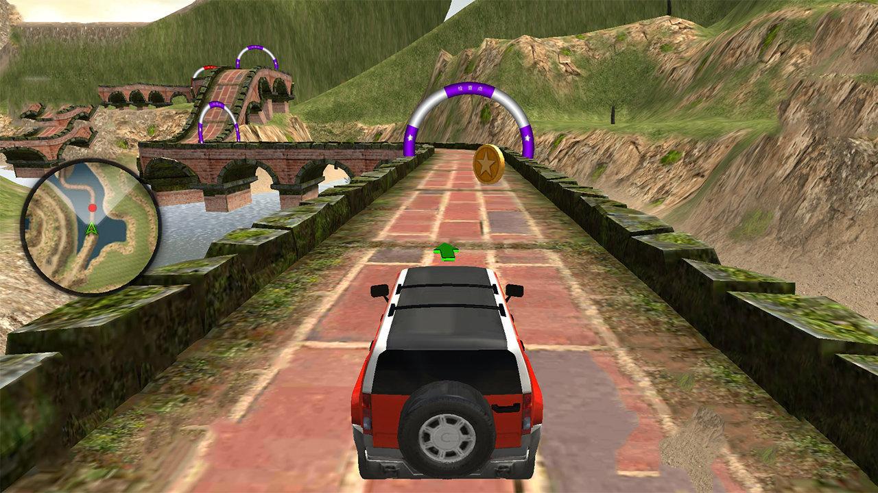 野外驾驶模拟