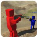 红蓝方块人大战