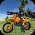沙滩摩托骑手