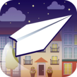 纸飞机飞行