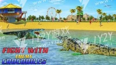 吃人鳄鱼模拟器