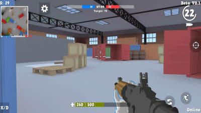 人类射击战场