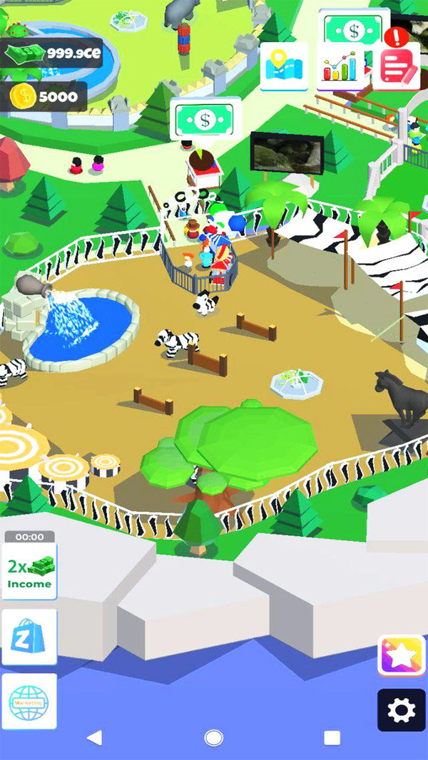 梦想动物园破解版