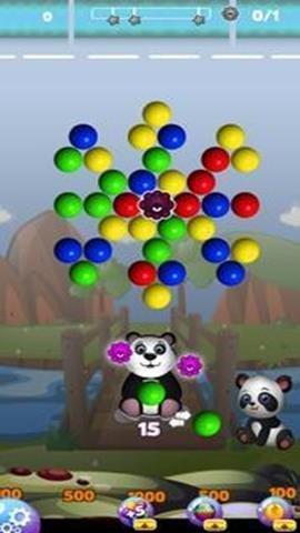 欢乐熊泡泡射手