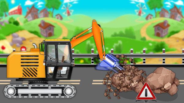 建筑工程车模拟