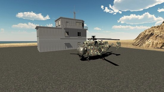 现代直升机模拟器中文版