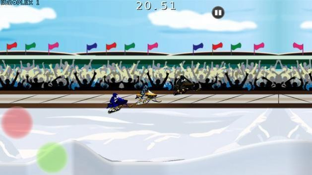 snocross雪地车
