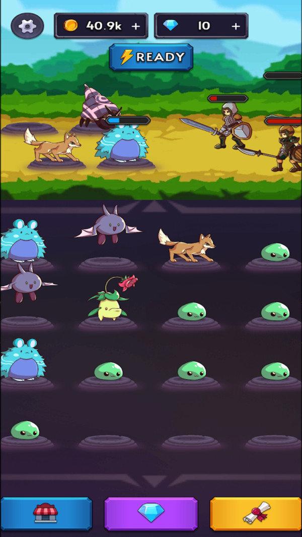 怪物大战猎人游戏中文破解版图片1