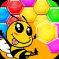 三维蜜蜂拼图游戏