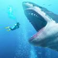 巨型鲨鱼吞噬