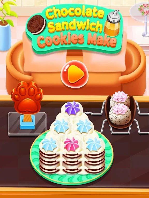 巧克力夹心饼干制作安卓版图片1