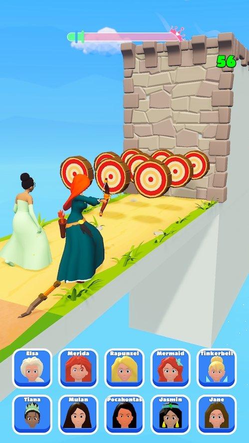 公主跑步3D游戏图片1